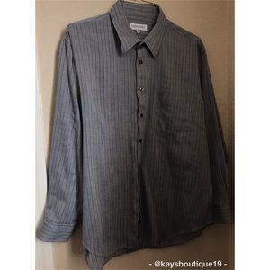 Yves Saint Laurent Dress Shirt Size Neck 17.5